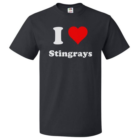 I Love Stingrays T shirt I Heart Stingrays Tee Gift