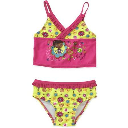 5e34c860cac42 Doc McStuffins - Doc Mcstuffins License It Girl Swimwear - Walmart.com