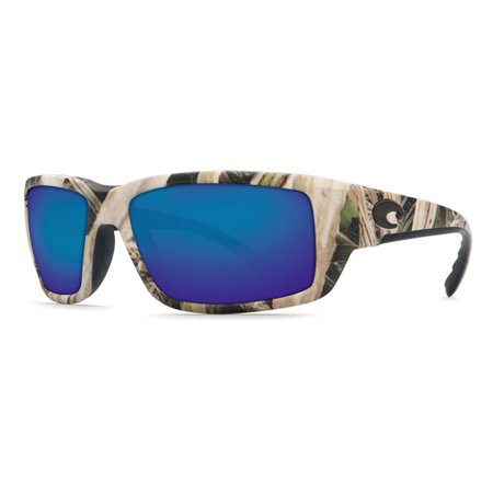 Costa Del Mar TF Fantail Mossy Oak Square Sunglasses Blue Lens 400G - Baby Eyes Grey Halloween Contact Lenses
