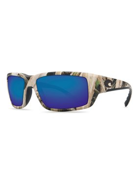 195d296d3828 Product Image Costa Del Mar TF Fantail Mossy Oak Square Sunglasses Green  Lens 400G