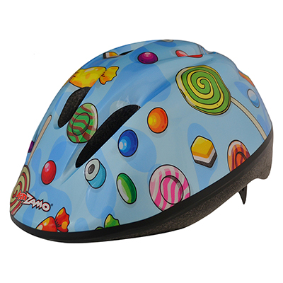 HELMET KIDZAMO BIKE SM-MD CANDY BU