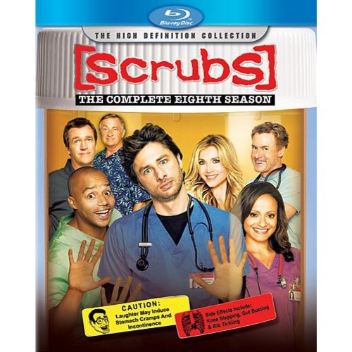 Scrubs: The Complete Eighth Season (Blu-ray) (Widescreen)