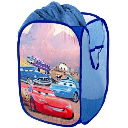 Disney cars table lamp pop up hamper value bundle walmart disney cars pop up hamper mozeypictures Image collections