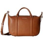 MICHAEL KORS Raven Luggage Brown Large Satchel Handbag