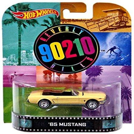 Hot Wheels Beverly Hills 90210 '65 Mustang 1/64 Die Cast Retro (Retro Mustang)