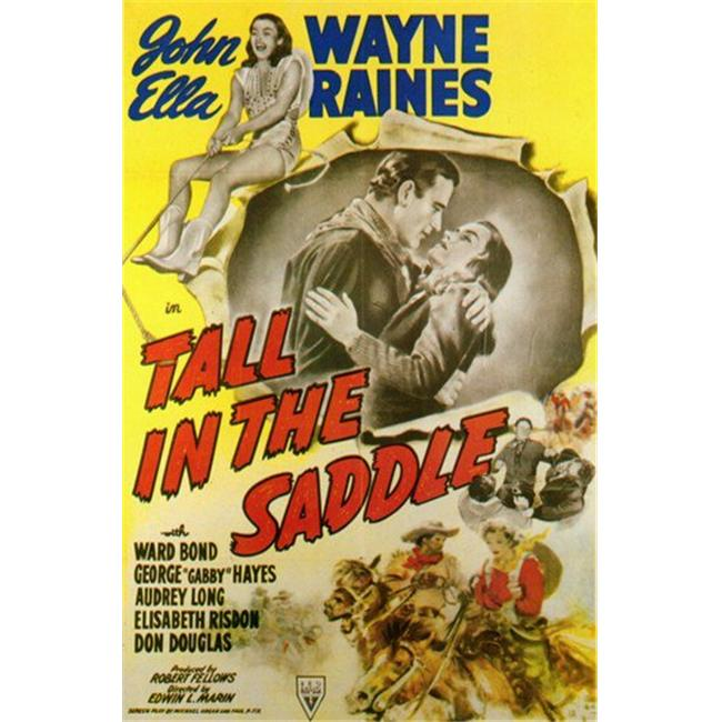 Posterazzi MOV258308 Tall in the Saddle Movie Poster - 11 x 17 in. - image 1 of 1
