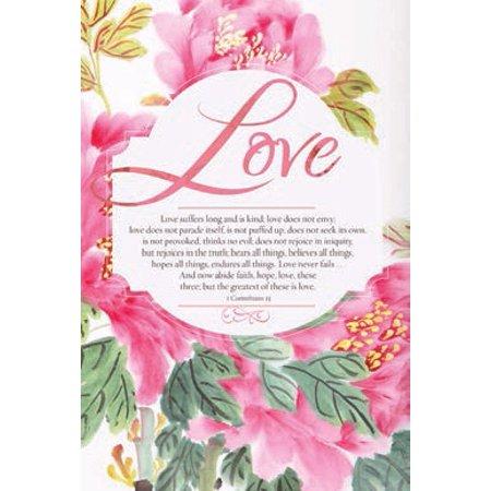 Bulletin-Wedding-Love (1 Corinthians 13) (Pack Of 100)](Wedding Bulletins)