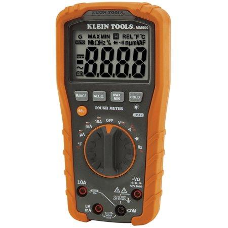 Klein Tools MM600 Auto-Ranging Digital Multimeter, 1000 (New Klein Slack)
