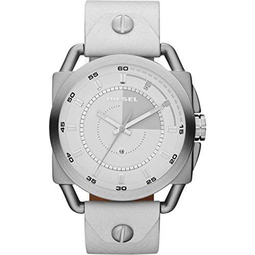 Diesel Watches Descender (White/Silver)