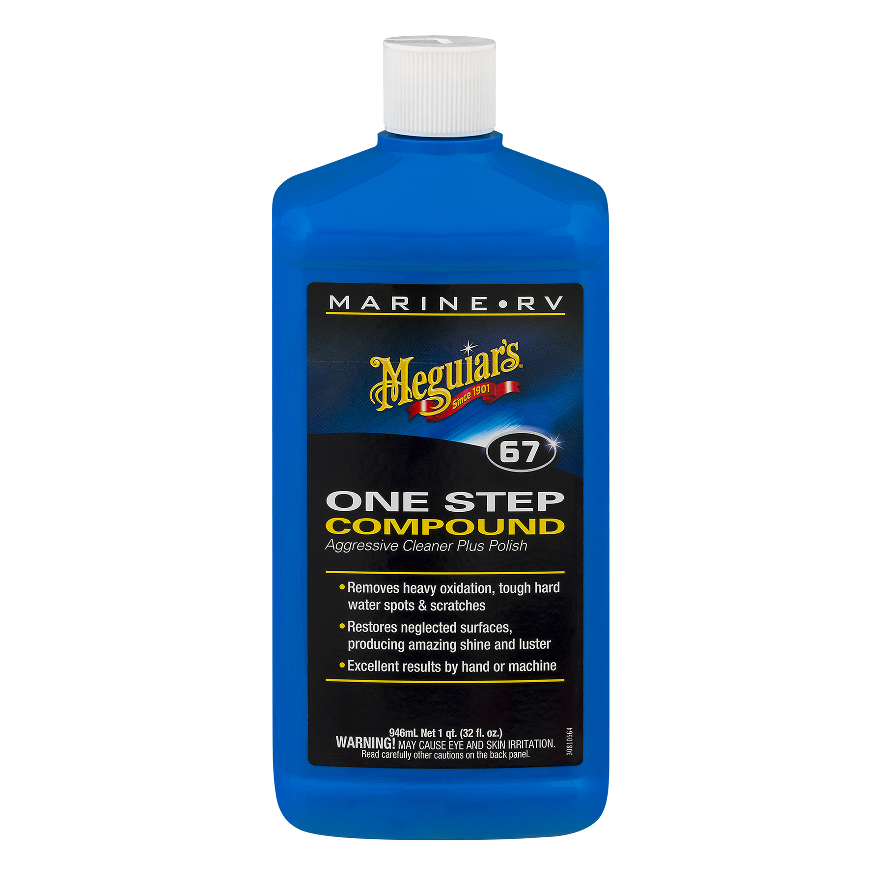 Meguiar's Marine-RV 67 One Step Compound, 946.0 ML