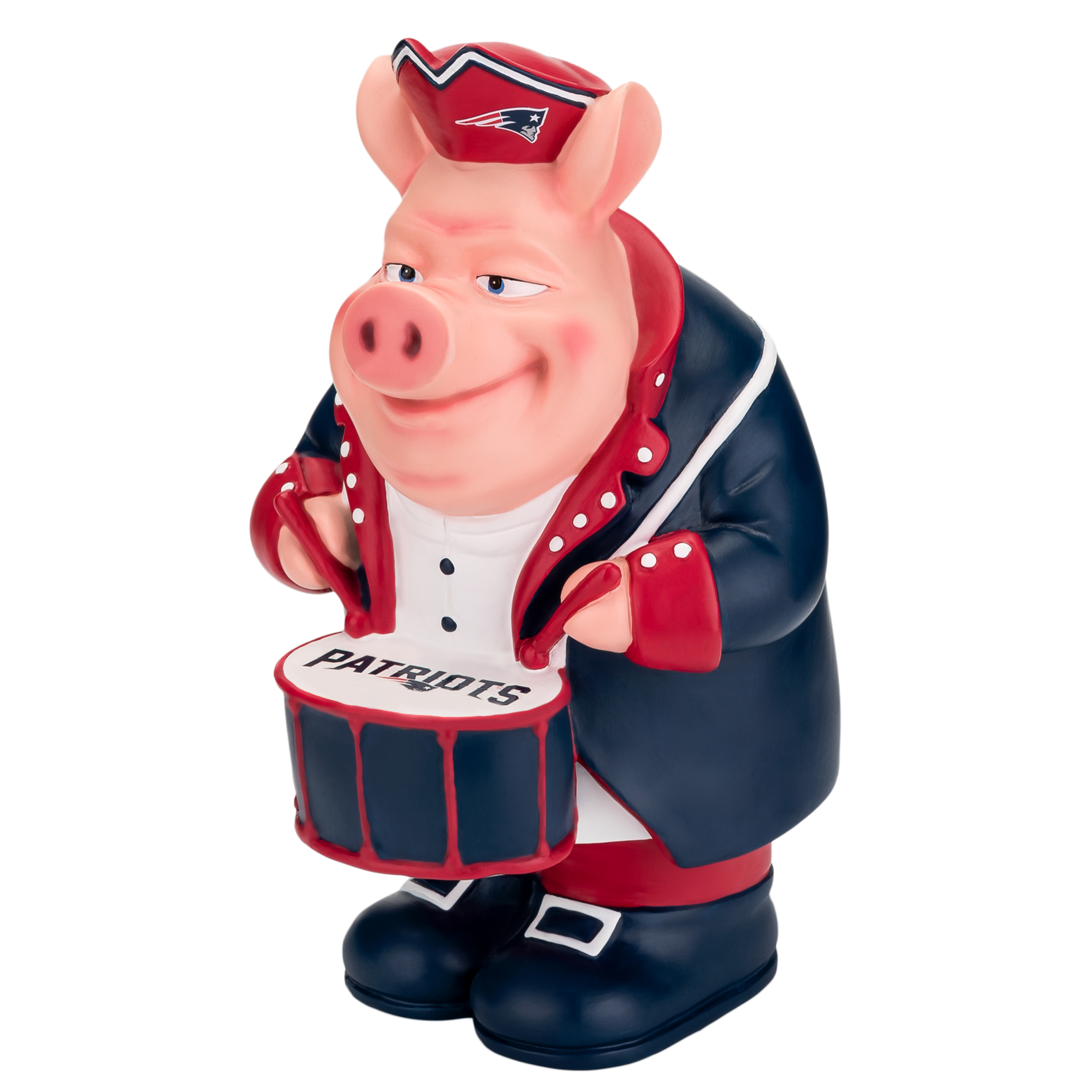 New England Patriots Caricature Piggy Bank by Forever Collectibles