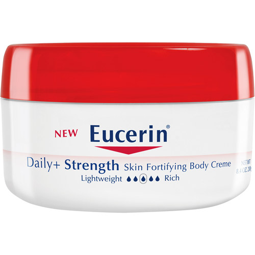 eucerin daily with strength skin fortifying body crme, 8.4-ounce