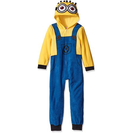 Despicable Me Boys' Minion Family Cosplay Union Suit](Die Minions Halloween)