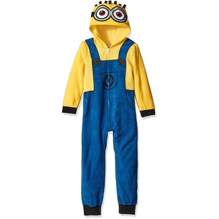 Despicable Me Boys' Minion Family Cosplay Union Suit - Despicable Me Minion Baby Halloween Costume