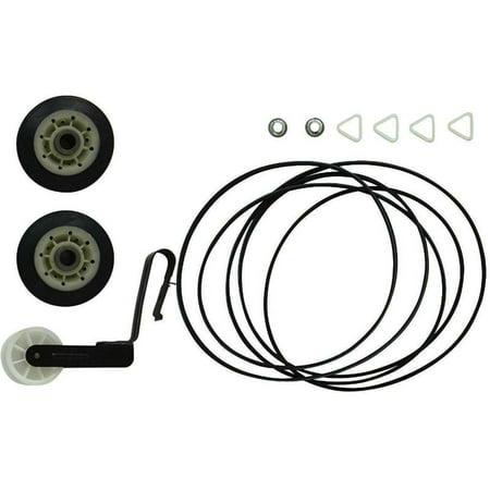 4392065 Dryer Repair Kit Roper Dryer Kit 341241 Drum Belt 691366 Idler Pulley 349241T Roller For Kenmore Sears Kirkland (Drum Roller Kit)