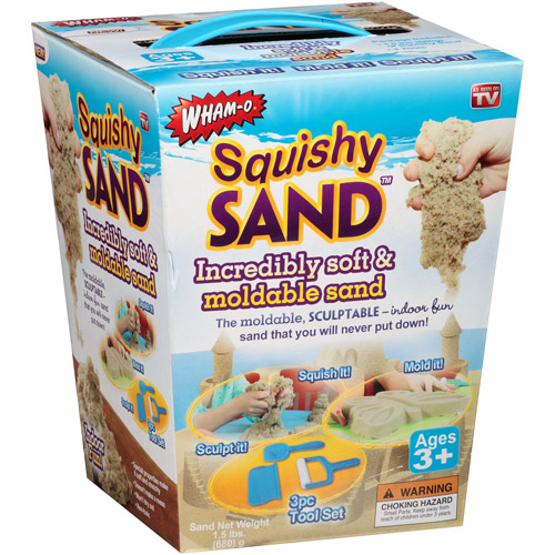 As Seen on TV Squishy Sand