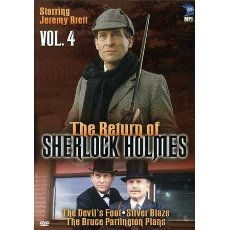 The Return of Sherlock Holmes: Volume 4: The Devil's Foot / Silver Blaze / The Bruce Partington Plans
