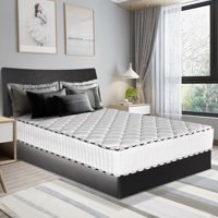 Costway 10 Inch Memory Foam Mattress Pad Sleepover Living Room Bed Topper,full size,Twin Size,Queen Size