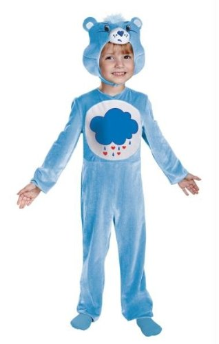 Care Bears Grumpy Bear Child Costume Deluxe Size 2T Toddler 41745