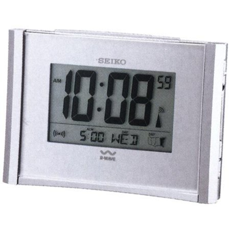 Get Up And Glow  Atomic Alarm Clock By Seiko