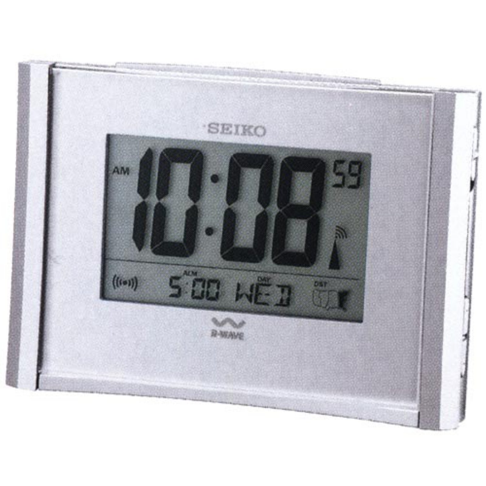 Get Up and Glow® Atomic Alarm Clock by Seiko