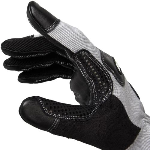 Men's Black Rhino Premium Goat Skin Leather Driver's Gloves Work Industrial Farm Medium