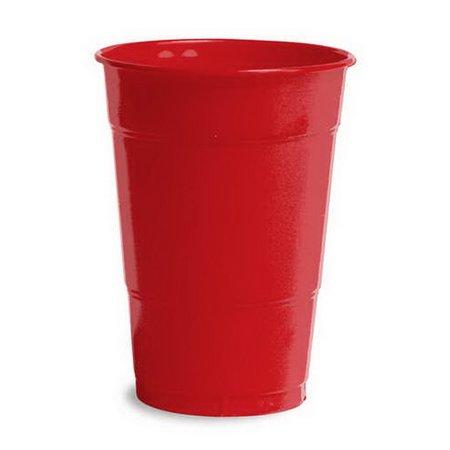 Creative Converting 28103181B Classic Red Plastic Cups, 16 Oz, Solid Bulk (Case of - Red Plastic Cups Bulk