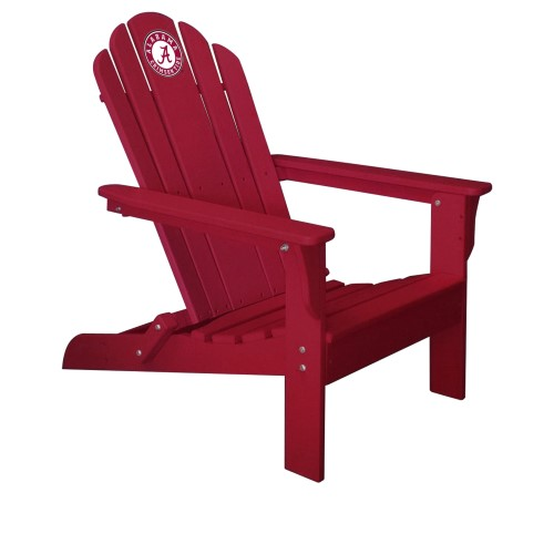 Imperial NCAA Patio Adirondack Chair, Red - University Of Alabama