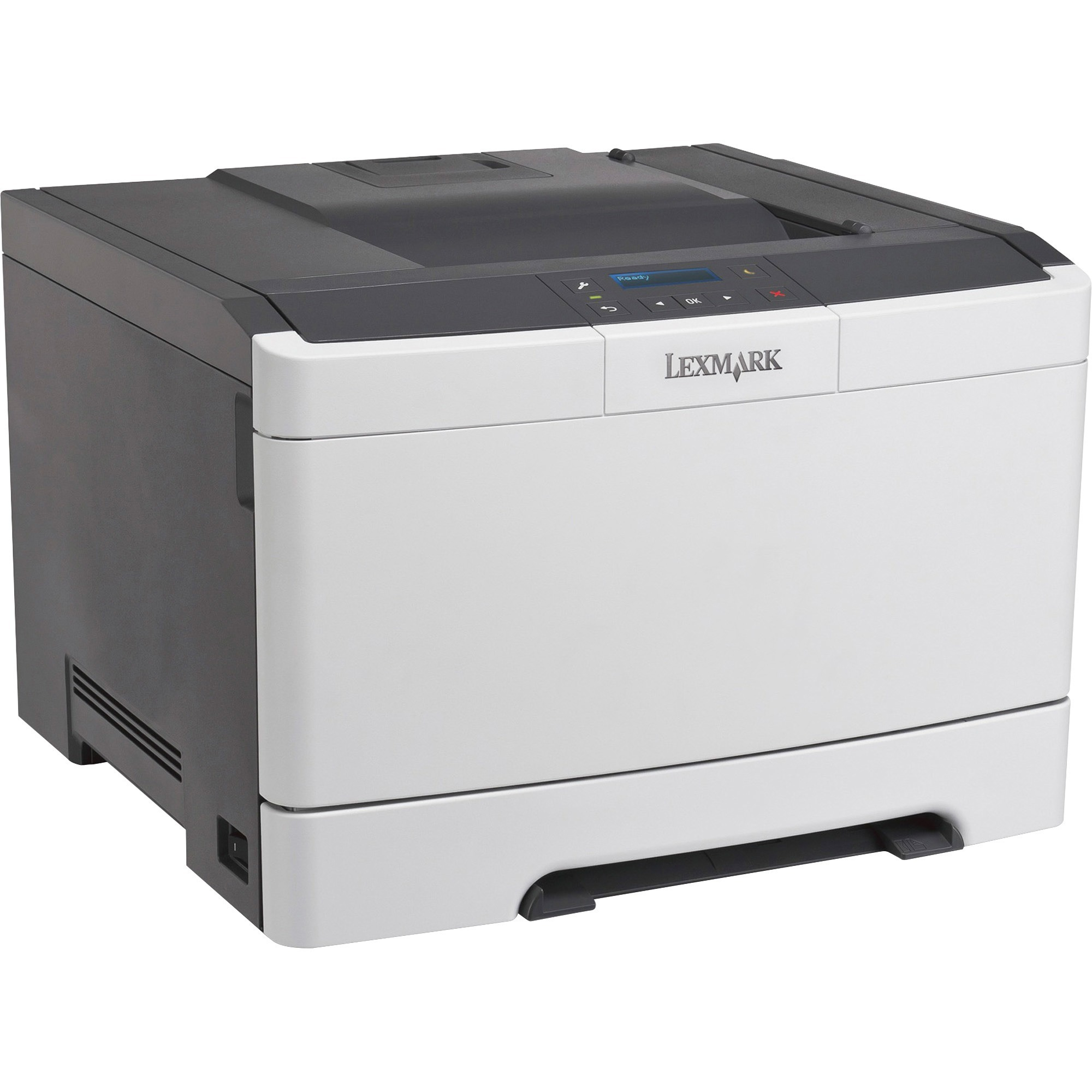 Lexmark CS310DN Laser Printer - Color - 2400 x 600 dpi Print - Plain Paper Print - Desktop, Black, White