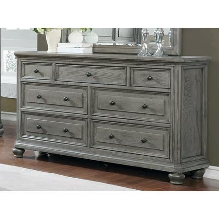 Best Master Furniture Dresser in Rustic Wood