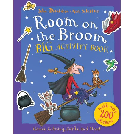 Room on the Broom Big Activity Book (Paperback)](Halloween Pattern Activities)