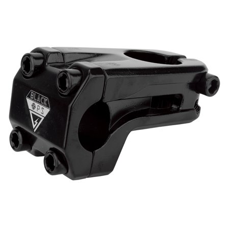 Black Ops Stem BMX Ahead 1-1/8 Defend-R Black (Bmx Bicycle Stem)