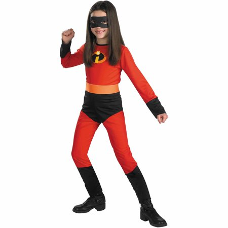 Incredibles Violet Child Halloween Costume - Zebra Print Halloween Costumes