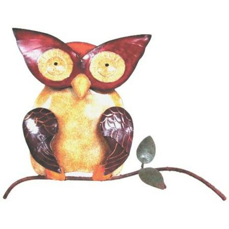 D-Art Collection Iron Wall Decor, Owl