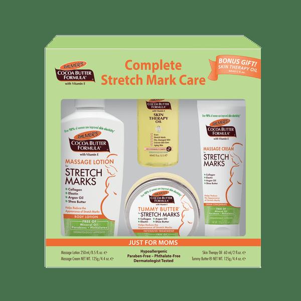 Palmer's Cocoa Butter Formula with Vitamin E Complete Stretch Mark Care Set, 4 pc