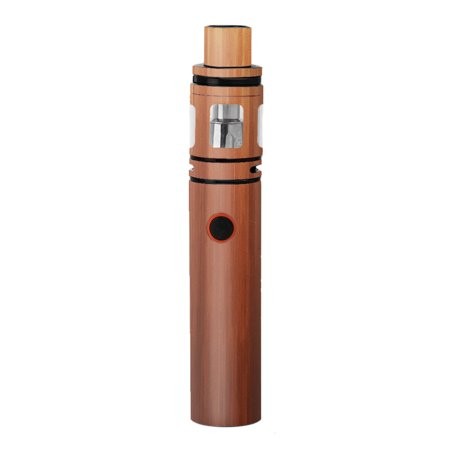 Skin Decal For Smok Stick V8 Pen Vape / Smooth Maple Walnut Wood