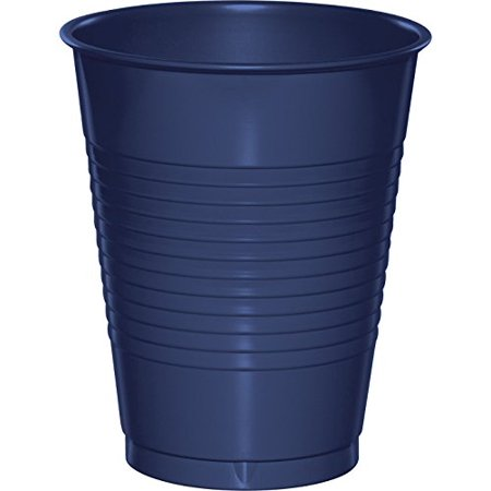 Creative Converting Touch of Color 20 Count Plastic Cups, 16 oz, Navy - image 1 de 1