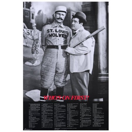 Abbott & Costello - Who's On First 27x40 Movie