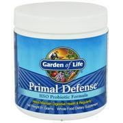 Garden of Life - Primal Defense HSO Probiotic Formula Powder - 81 Grams