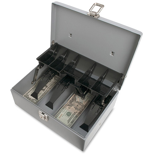 Sparco 5-Compartment Tray Cash Box
