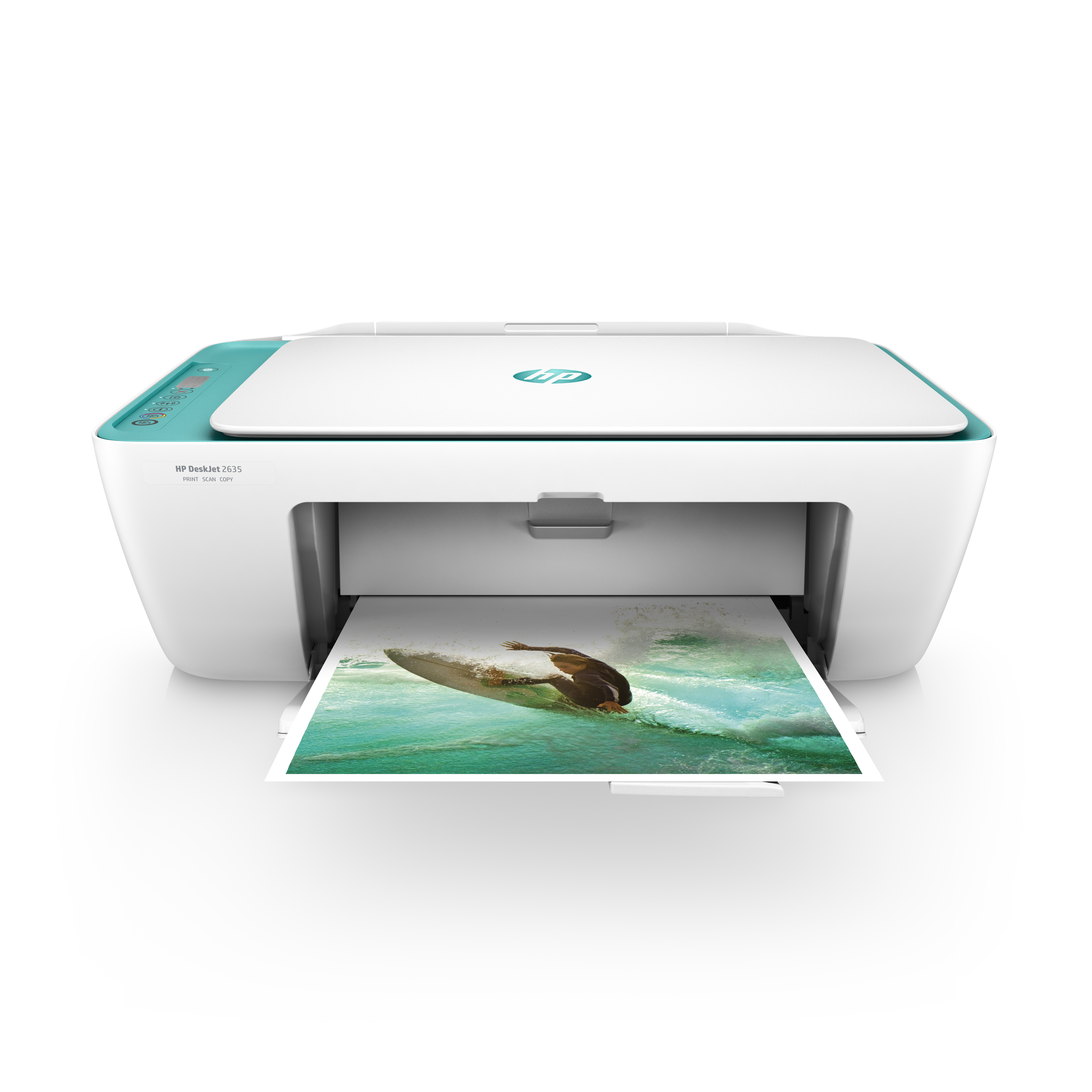 HP DeskJet 2635 All-in-One Printer Teal by HP
