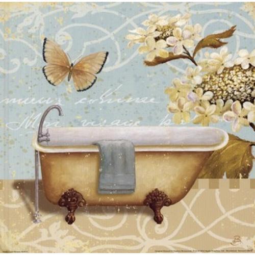 Light Breeze Bath II Poster Print by Daphne Brissonnet (10 x 10)