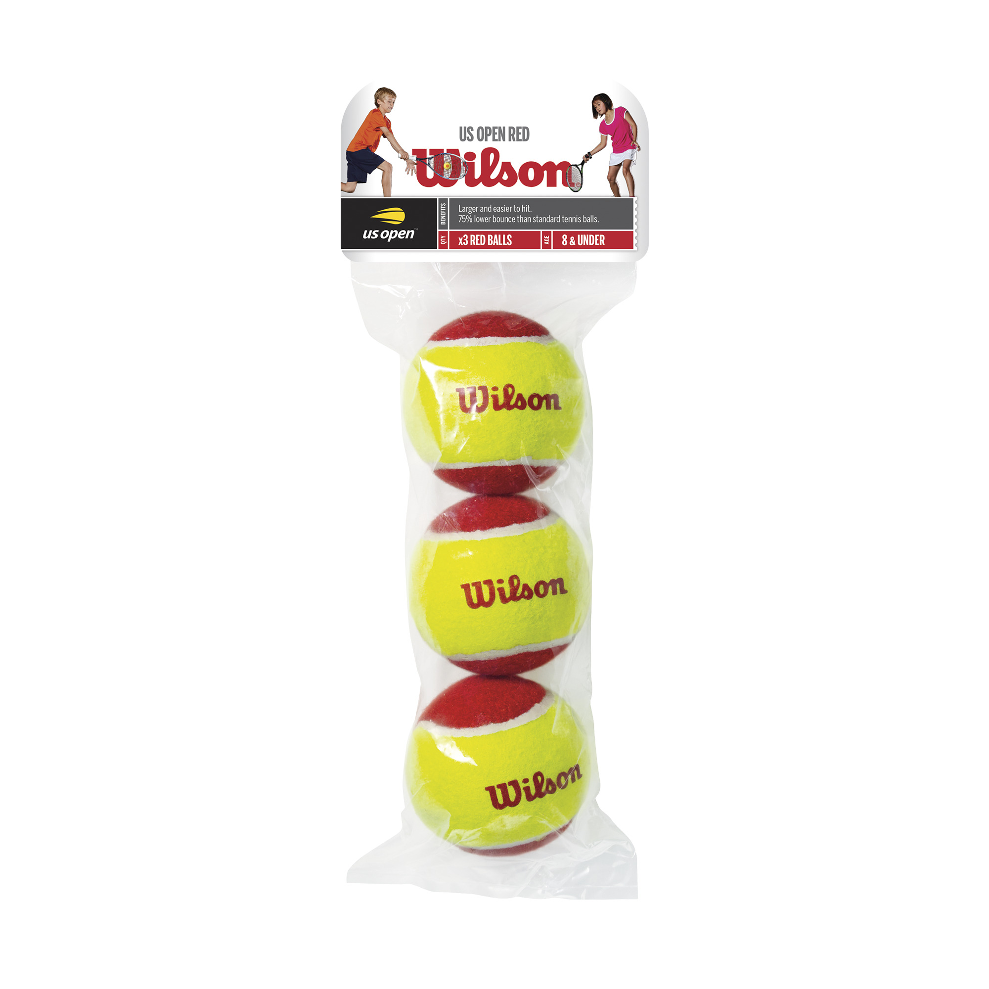 Wilson Starter Cricket Low Compression ITF Approved Tennis Ball Pack Of 12