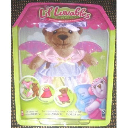 Lil Luvables Bear Wear Fairy Angel Outfit By Fluffy Factory