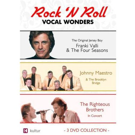 Rock 'N Roll Vocal Wonders: Frankie Vali & The Four Seasons / Johnny Maestro & The Brooklyn Bridge / The Righteous Brothers In Concert (Alternative Rock Halloween Music)