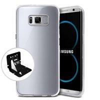 [Samsung Galaxy S8] Case, Slim & Flexible Anti-shock Crystal Silicone