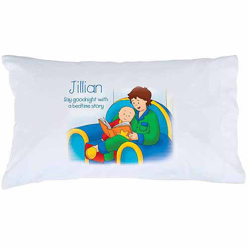 Personalized Caillou Bedtime Story Pillowcase