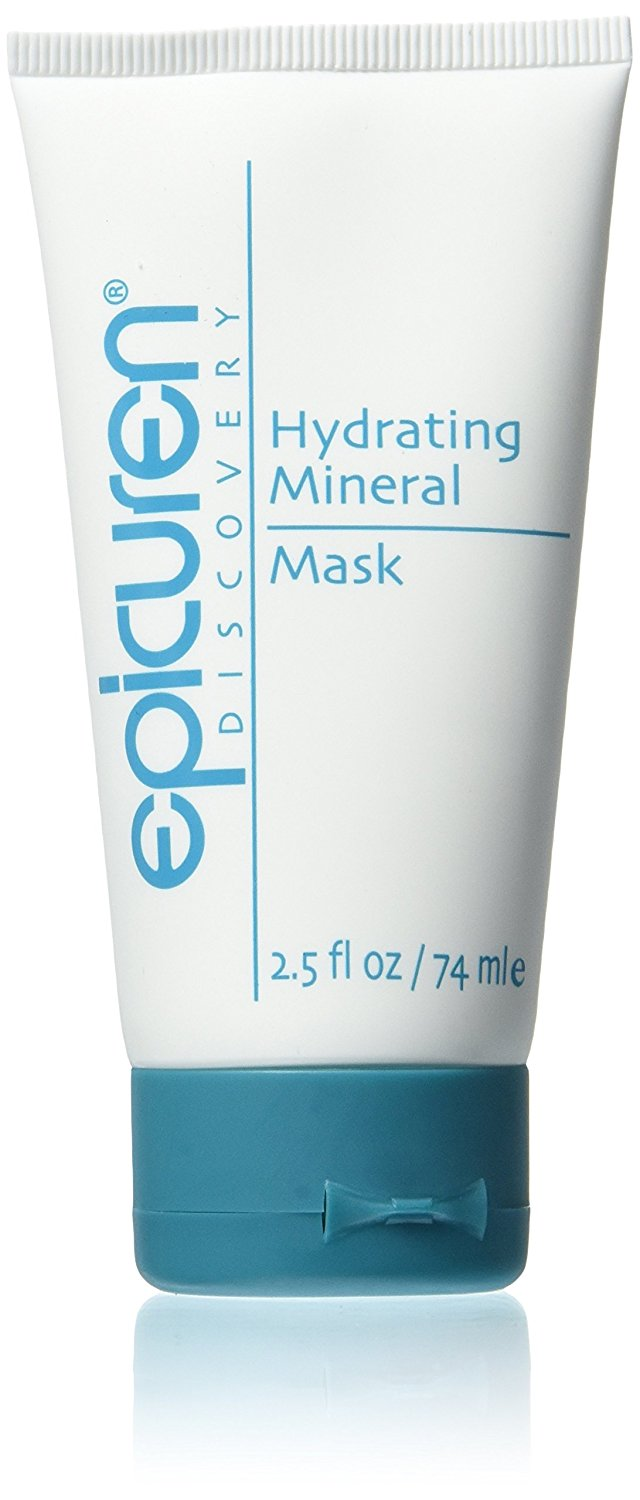 Epicuren Hydrating Mineral Mask (2.5 oz) ZAPZYT Pore Clearing Scrub, 5 oz (Pack of 4)