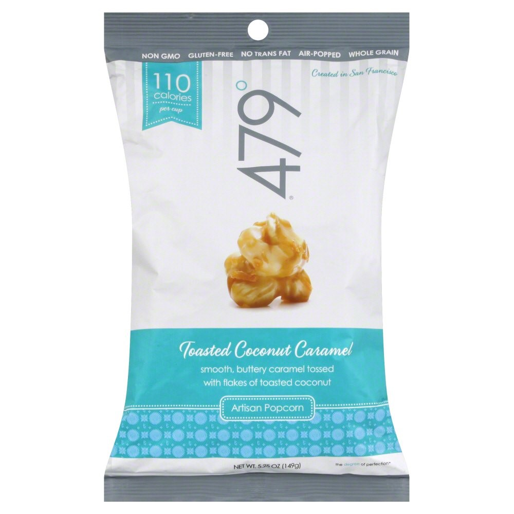 Image of 479 Degrees Artisan Popcorn - Toasted Coconut Caramel, 5 Ounce