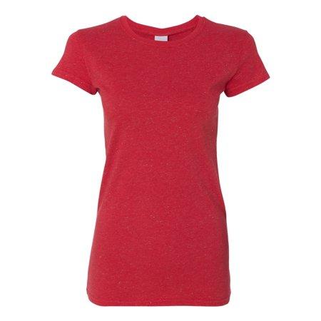 J America-Ladies Glitter T-Shirt-JA8138
